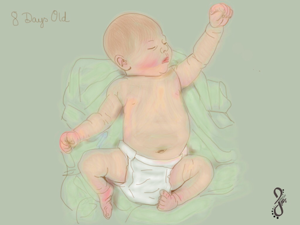 Why Do the Legs of Newborn Babies LookBowed?