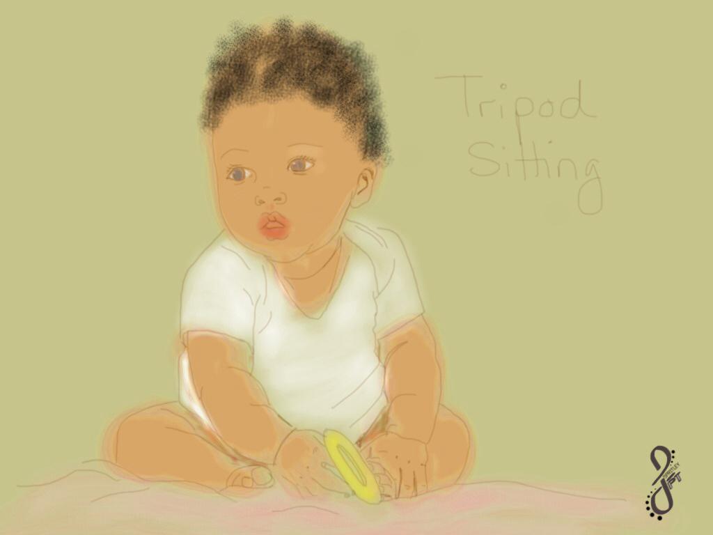 5 Months: Sitting