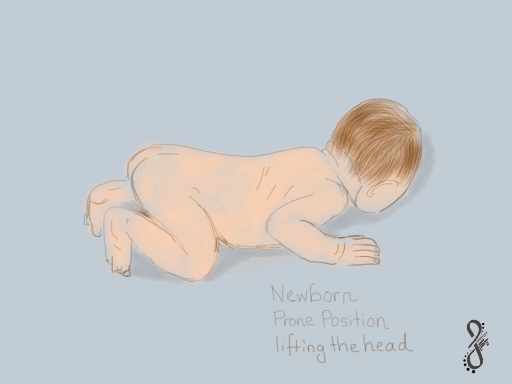 Newborn: Beginning Tummy Time